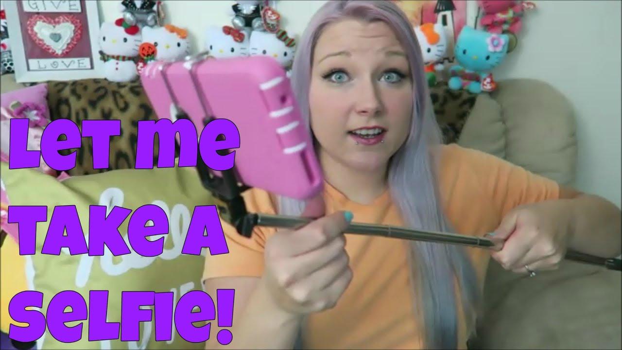 Selfie Stick Upgrade LOL! | Tia Michelle - YouTube