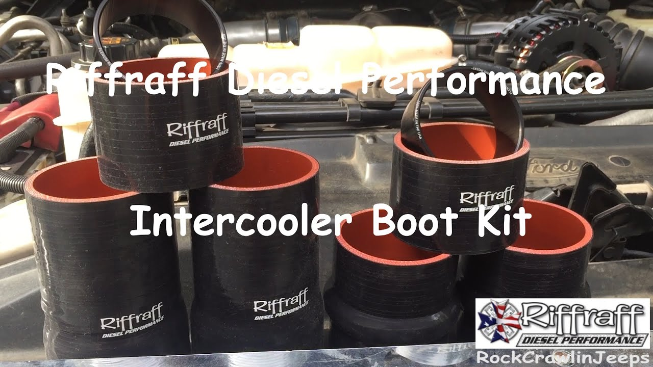 How To Riffraff Diesel Intercooler Boot Kit Youtube