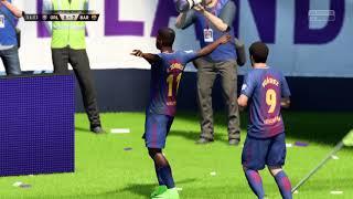 Fifa 18 career season 1 test 2 fc barcelona vs. orlando city sc