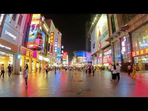 Shangxiajiu pedestrian street(night), Guangzhou / 上下九步行街(夜), 廣州 [4K]