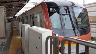 発車:東京メトロ17000系 東武東上線直通 川越市行き
