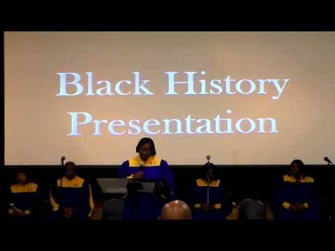 Black History Presentation - Daisy Bates