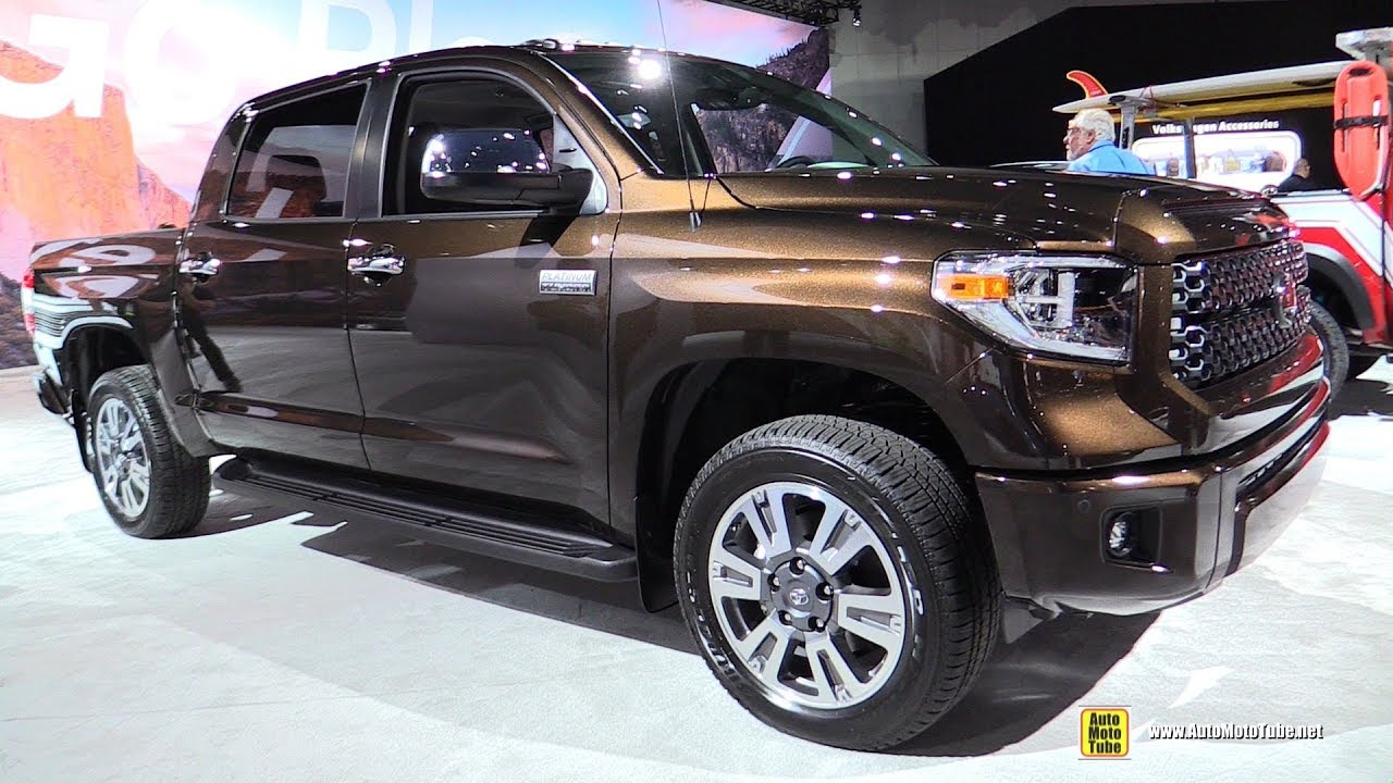 2018 Toyota Tundra Platinum Exterior And Interior