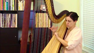Andante by Mary Kay Waddington, Inspirational Videos for Young Harpists #43