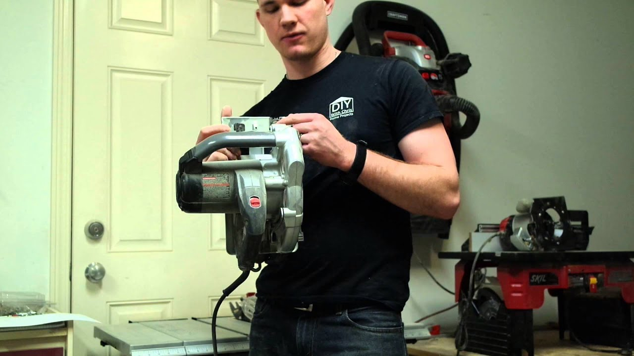 Porter cable 13 amp circular saw with laser guide initial video porter cable 13 amp circular saw with laser guide initial video review from diy with chris keyboard keysfo Choice Image