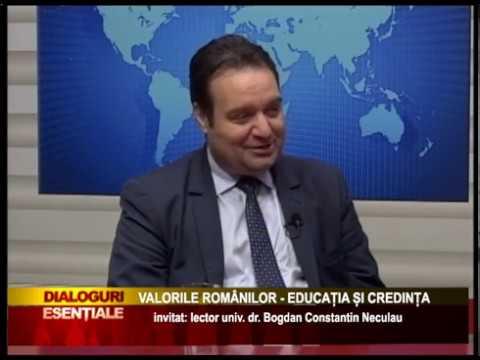 DIALOGURI ESENȚIALE - VALORILE ROMÂNILOR - EDUCAȚIA ȘI CREDINȚA