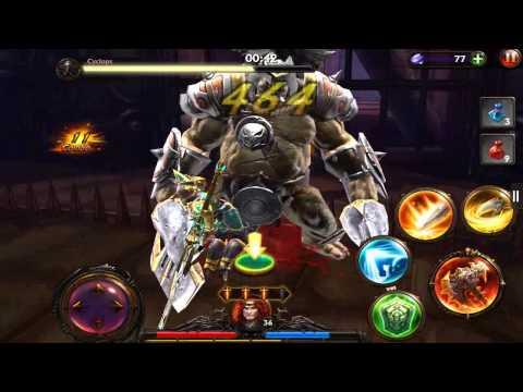 Eternity Warriors 3 Cyclops Legendary