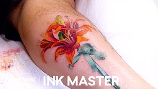 'Bouquet of Flowers' Knock Out Official Highlight | Ink Master: Grudge Match (Season 11)