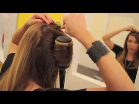 How to Round Brush Blowdry your Hair