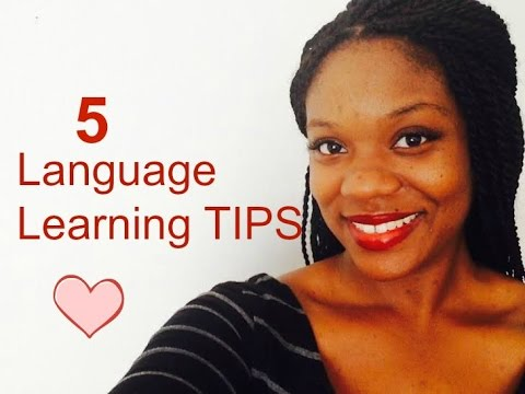 Language Learning Tips/How I speak 4 Languages