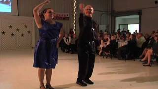 Carrie Hamilton and Dan TeGrotenhuis Dancing with the Putnam County Stars