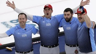 US men triumph over the Swedes to win first gold medal in curling