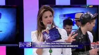 MC Maloka com Banda ao vivo  no Super Pop com Luciana Gimenez  01/08/2012 (HD)