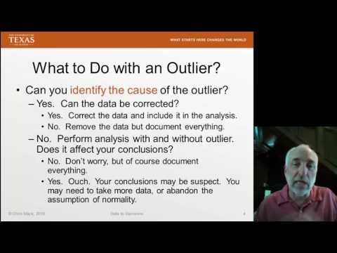 Lecture19 (Data2Decision) Final Thoughts on Outliers