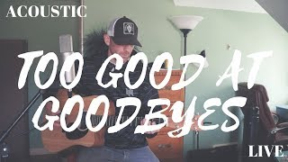 Sam Smith - Too Good At Goodbyes (Cover by Derek Cate)
