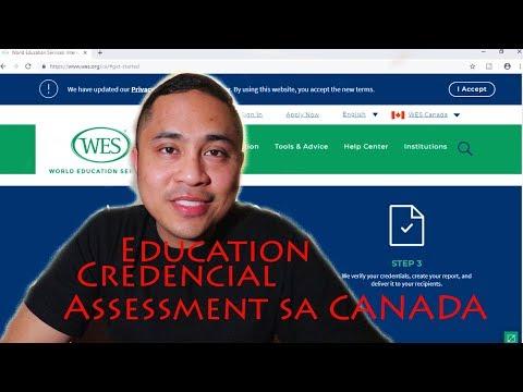 Paano Ang EDUCATIONAL CREDENTIAL ASSESSMENT Papunta Sa Canada, Buhay Sa Canada