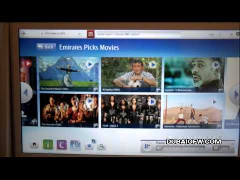 Emirates Airline Inflight Entertainment - ICE