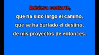 Quisiera Decir Tu Nombre Karaoke José Luis Perales By Aheronys