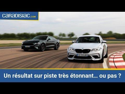 Les essais de Soheil Ayari : BMW M2 Compétition vs Ford Mustang Bullitt : faucille contre marteau