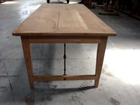 Antieke Spaanse Tafel : Eettafel spaans ijzer.mpg youtube