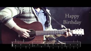 Happy Birthday - Travis Picking Arrangement (w/tab)