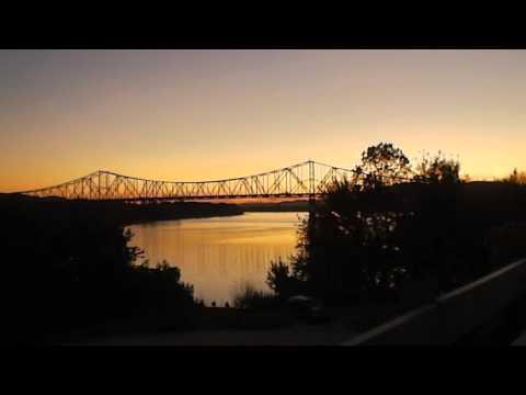 Sunset Carl Perkins Bridge