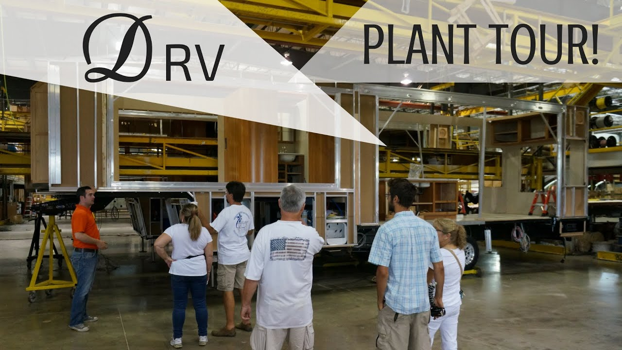 Touring the DRV Luxury Suites Manufacturing Plant | VLOG 53