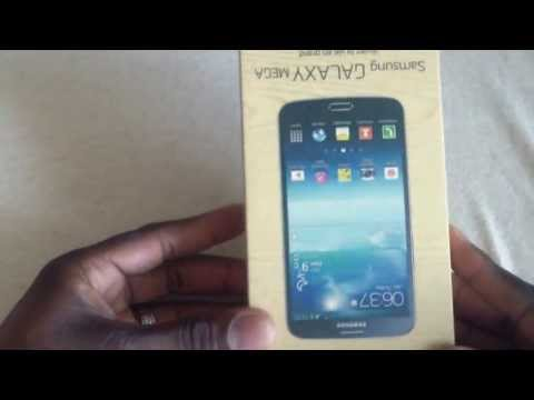 Official Samsung Galaxy Mega 6.3 T-Mobile 4G unboxing!
