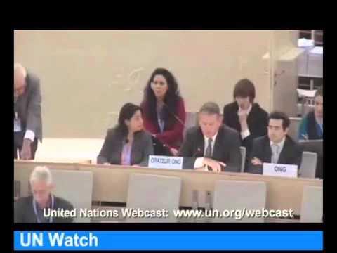 UN Human Rights Council Debate Regarding Israel-Gaza Conflict