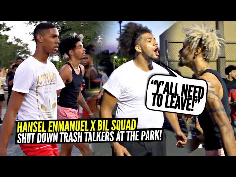 Download Hansel Enmanuel JOINED The Ballislife Squad & SHUTS PARK DOWN vs Trash Talkers! RESPECT WAS EARNED!
