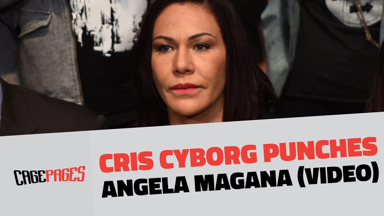 Angela Magana Cris Cyborg