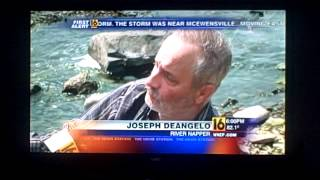 River Napper Northeast Pa news footage from Wnep Tv also featured abc world news