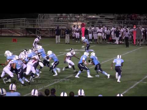2014 Edison vs Yorktown Football Highlights