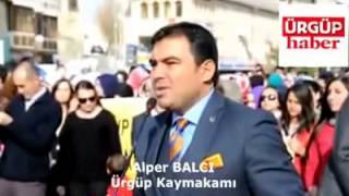 """Ürgüp kaymakamı """"ALPER BALCI"""" Cumhuriyet Bayramı konuşması"""