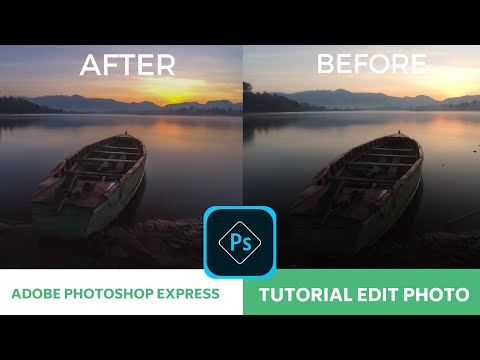 Photoshop Express - Tutorial Photo Editing Android