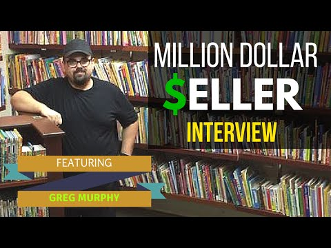 How To Sell 1 Million Dollars Worth Of Used Books On Amazon | Greg Murphy Interview