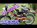 La mob a Alexis (MBK 51 et Peugeot 103)