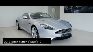 Aston Martin Virage V12 Finished In Lightning Silver Interior And Exterior Walkaround Youtube
