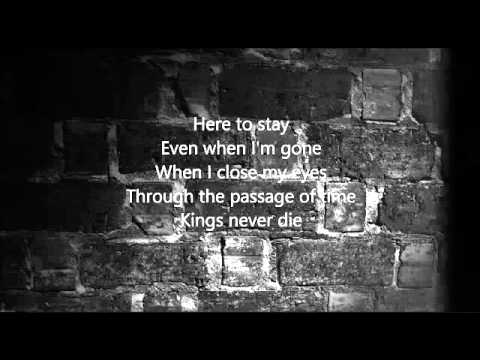 Kings never die- Eminem. ft Gwen