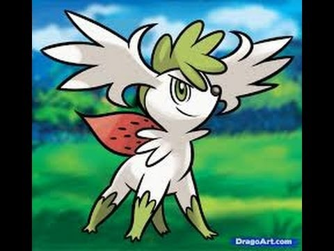 how to get shaymin sky form in pokemon brick bronze