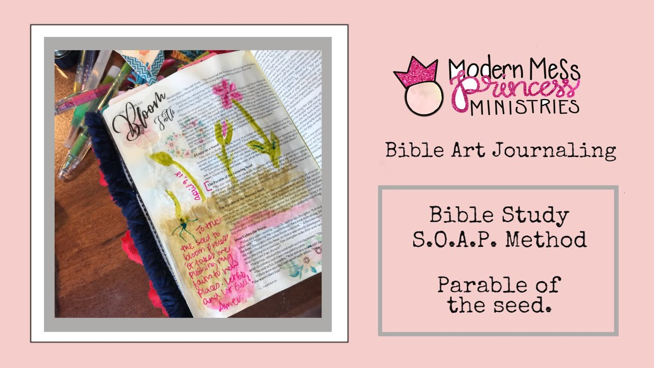 Bible Art Journaling Soap Bible Study Method
