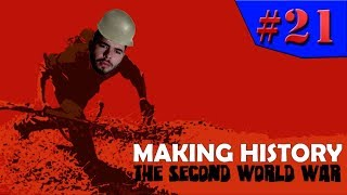 Making History: The Second World War - O CONTRA ATAQUE!!! #21 (Gameplay / PC / PTBR) HD