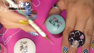How to make reverse stamping (nail decal)