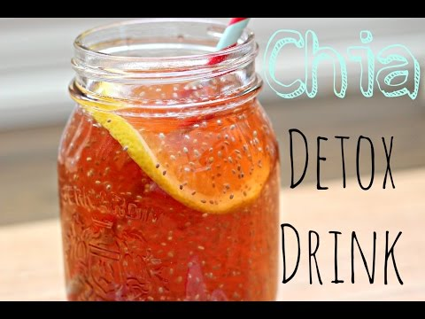 Healthy Chia Seed Detox Drink - How To & Recipe