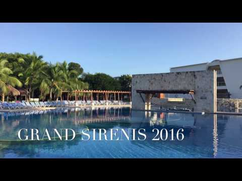 Grand Sirenis Resort and Spa Riviera Maya Mexico / DJI OSMO