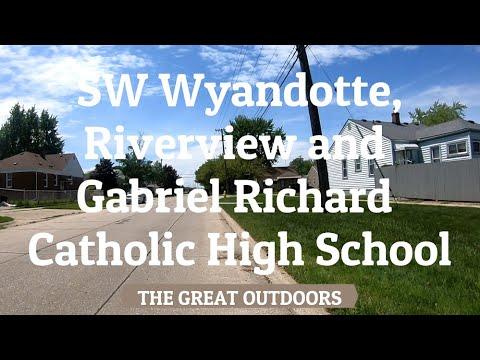 SW Wyandotte, Riverview and Gabriel Richard Catholic High School