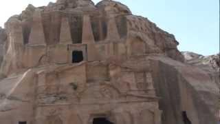Obelisk Tomb and Triclinium at Petra - Jordan