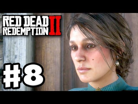 Red Dead Redemption 2 - Gameplay Walkthrough Part 8 - Mary Linton (RDR2 PS4)