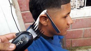Corte de pelo para hombres sombreado