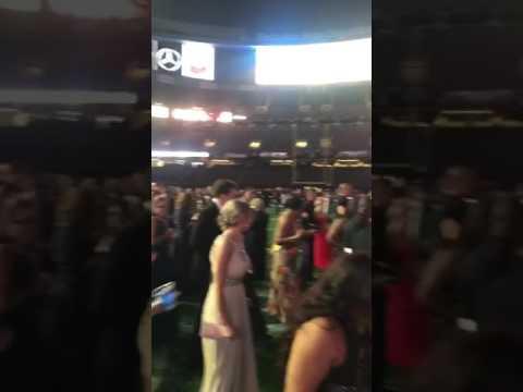 Marine Corps ball 2016! Saints Stadium